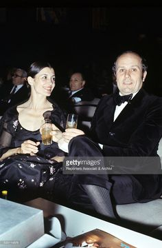 Italian ballet dancer Carla Fracci and her husband and Italian director Beppe…