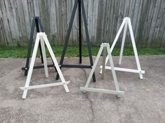 make your own craft show easels