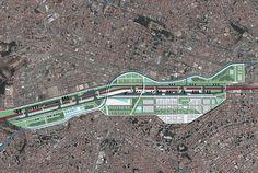 Carlos Leite, Eduardo Della Mana e Bernd Rieger: Revitalização Urbana Diagonal Sul, ABC Paulista, São Paulo - Arcoweb