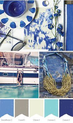 Colores marinos para el veranito