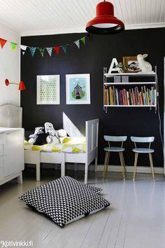 Maalilla ja teipillä tuunatut huonekalut ovat mukavan rentoja ja retroja.