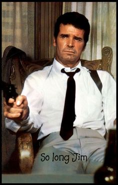 James Garner from Marlowe. Great scene where Bruce Lee destroys his office!