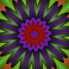 Mandala de Pierre Vermersch Digital Drawings