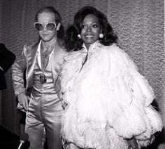 Elton John with Diana Ross - James Fortune