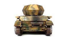 """Panzer IV Sd.Kfz. 161/4 """"Wirbelwind"""" - Academy - 1/35"""