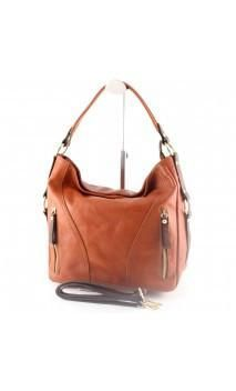 """Made In Italy"" Italian Leather Shopper Bag - Roman"
