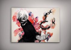Fullmetal Alchemist Anime Print Wall Decor Watercolor Anime Poster Gift R9