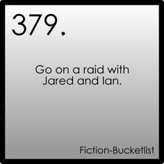 The Host (this was already #267) Fiction Bucketlist Idea From Anon