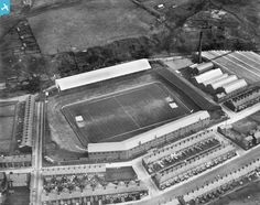 blackburn rovers ewood park 1950s note no flood lights