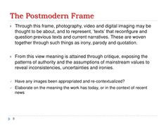 the postmodern frame - Google Search
