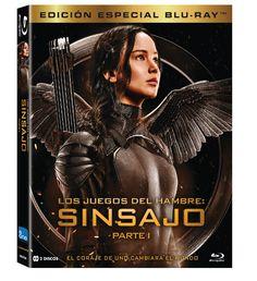 Carátula BD Edición Especial Sinsajo Parte 1 disponible desde el  13 de marzo