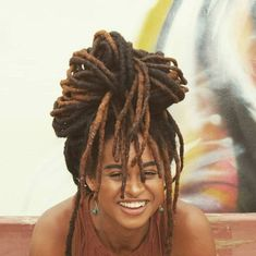 Dreadlock Hairstyles, Braided Hairstyles, Cool Hairstyles, Hair Inspo, Hair Inspiration, Twists, Nattes Twist Outs, Beautiful Dreadlocks, Pelo Afro