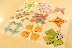 Why Not Sew?: Hand Pieced Quilt-A-Long Block #9 Square in a Square