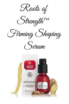Buy Roots Of Strength Firming Shaping Serum - Moisturisers, At With a lightweight silky texture, this firming and shaping serum leaves skin feeling smoother and refined. Taking inspiration from nature, the formula is infused with three root Jawline, Ageing, The Body Shop, Madagascar, Contour, Serum, Roots, Moisturizer, Feels