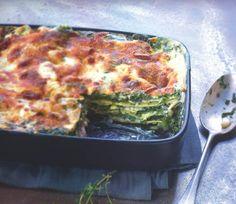 Lasagnes chèvre-épinards Parmesan, Bon Appetit, Quiche, Lasagna, Meal Planning, Food And Drink, Meals, Dinner, Cooking