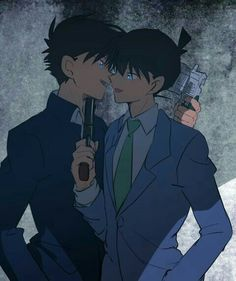 pixiv is an illustration community service where you can post and enjoy creative work. A large variety of work is uploaded, and user-organized contests are frequently held as well. Detective Conan Shinichi, Detektif Conan, Kaito Kuroba, Detective Conan Wallpapers, Kaito Kid, Kudo Shinichi, Magic Kaito, Case Closed, Shounen Ai