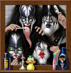 KISS www.vladimirpintor.com