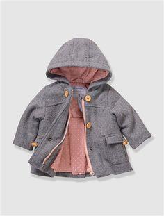 Süßer Mantel für frische Herbsttage.   #vertbaudet #Herbst #Winter #2015 #Kinderkleidung #Babymode