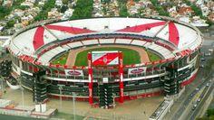 Estadio Monumental Antonio Vespucio Liberti in Argentina-74,624 capacity-home of the most successful team in Argentina-River Plate