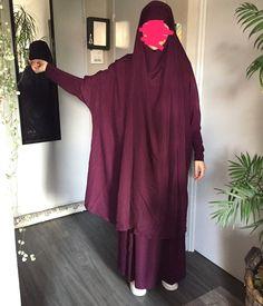 Mode Hijab, Niqab, Modest Outfits, Muslim, Instagram, Clothes, Dresses, Fashion, Plum Colour