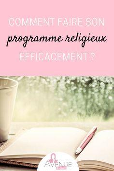 Rentrée oblige, on se motive pour mettre au point un programme religieux simple mais efficace ^^