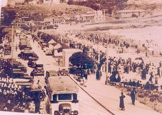 Cartagena Chile, playa chica años 30 | (Ver en tamaño grande… | Flickr