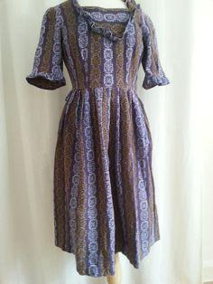 SALG- Spesiell vintagekjole fra 70-tallet