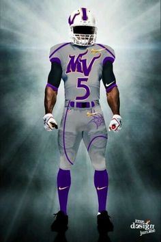 Illustrations of what the new uniforms for the Minnesota Vikings might look like for the 2013 season. College Football Uniforms, Sports Uniforms, Raiders Helmet, Minnesota Vikings Football, Football Images, Nfl Logo, Professional Football, Football Jerseys, American Football
