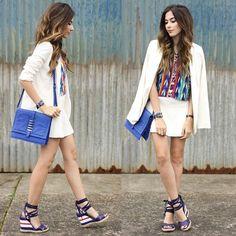 A sandália Tanara ref. N7663 completou perfeitamente o look da blogueira @fashioncoolture. WE LOVE IT.