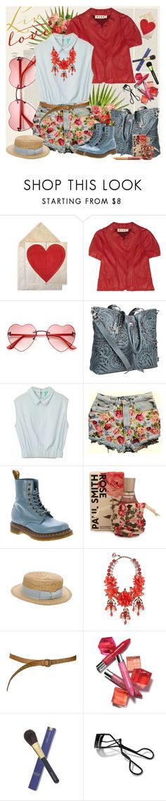 """""""PRETTY"""" by fashion-mariquita-camy ❤ liked on Polyvore featuring Oris, Marni, American West, Dr. Martens, Paul Smith, Anthony Peto, Gucci, Jane Iredale, Paul & Joe Sister and Clinique"""