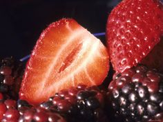 Fruit Healthy Food Strawberries Blackberries Photographic Print Find local farmers farmersme.com