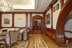 Фото интерьера коридора дома в стиле модерн