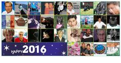 Happy 2016 Photo Collage with 30 Friends! Create Yours!