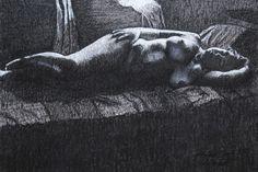 A BELA ADORMECIDA 2. Desenho de Luiz Iévenes.