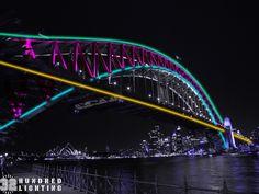 100,800 Colorful LED Lights on Sydneys Harbour Bridge - My Modern Metropolis