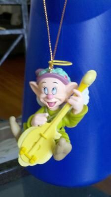 I have had this Grolier Dopey ornament on my tree for years. I just love him.