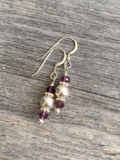 A personal favorite from my Etsy shop https://www.etsy.com/listing/153737031/sterling-silver-ball-dangle-earrings