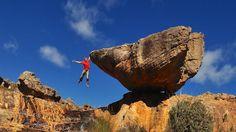 Pic. Alex Megos in Rocklands (South Africa) © Joseph Wetzel