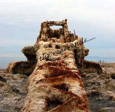 Old Salty Crane Salton Sea by WhereTheRoadEnds on Etsy