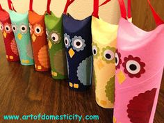 Art of Domesticity: Owl Ornaments