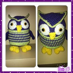 Amigurumi Owl with a sweater