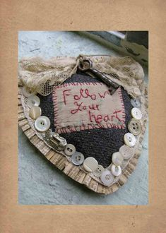 Follow your heart by hand