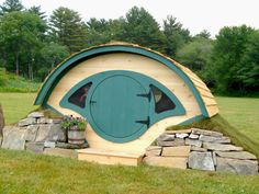 Wooden Wonders' hobbit holes turn backyards into whimsical wonderlands. The brand-new playhouse version Woodshire, produced in Unity, Maine, is an enclosed space ideal for summer sleepovers and imagination-filled play dates, from $2,390 at www.wooden-wonders.com.