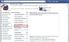 Check this box and Trending Topics will darken your Facebook page