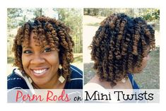 Big Natural Hair, Natural Hair Twist Out, Natural Hair Styles, Natural Beauty, Curly Hair Tips, Curly Hair Styles, Perm Rod Set, Afro Hair Care, Mini Twists