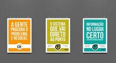 Cliente: CR Sistemas e Web | Sinalização: posteres  | #designgrafico #design #identidadevisual #identity #corporatedesign