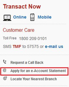 2 Easy Steps to get Tata Mutual Fund Account Statement online.
