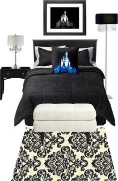 """""""Chic Disney Bedroom"""" by josrick ❤ liked on Polyvore"""