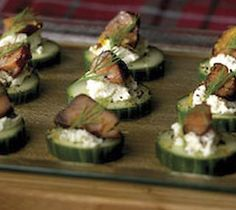 Thrifty Foods - Recipe - Candied Salmon and Goat Cheese Canapés