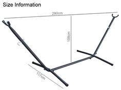 Fixed Hammock Stand Dimensions